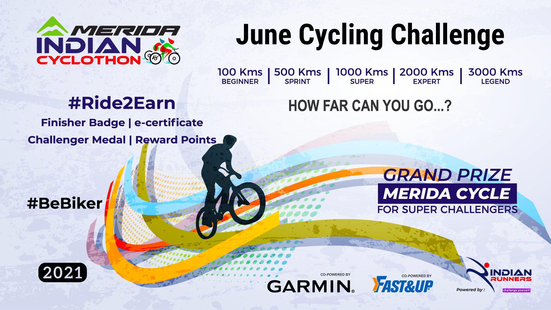 July Cycling Challenge 2021 image