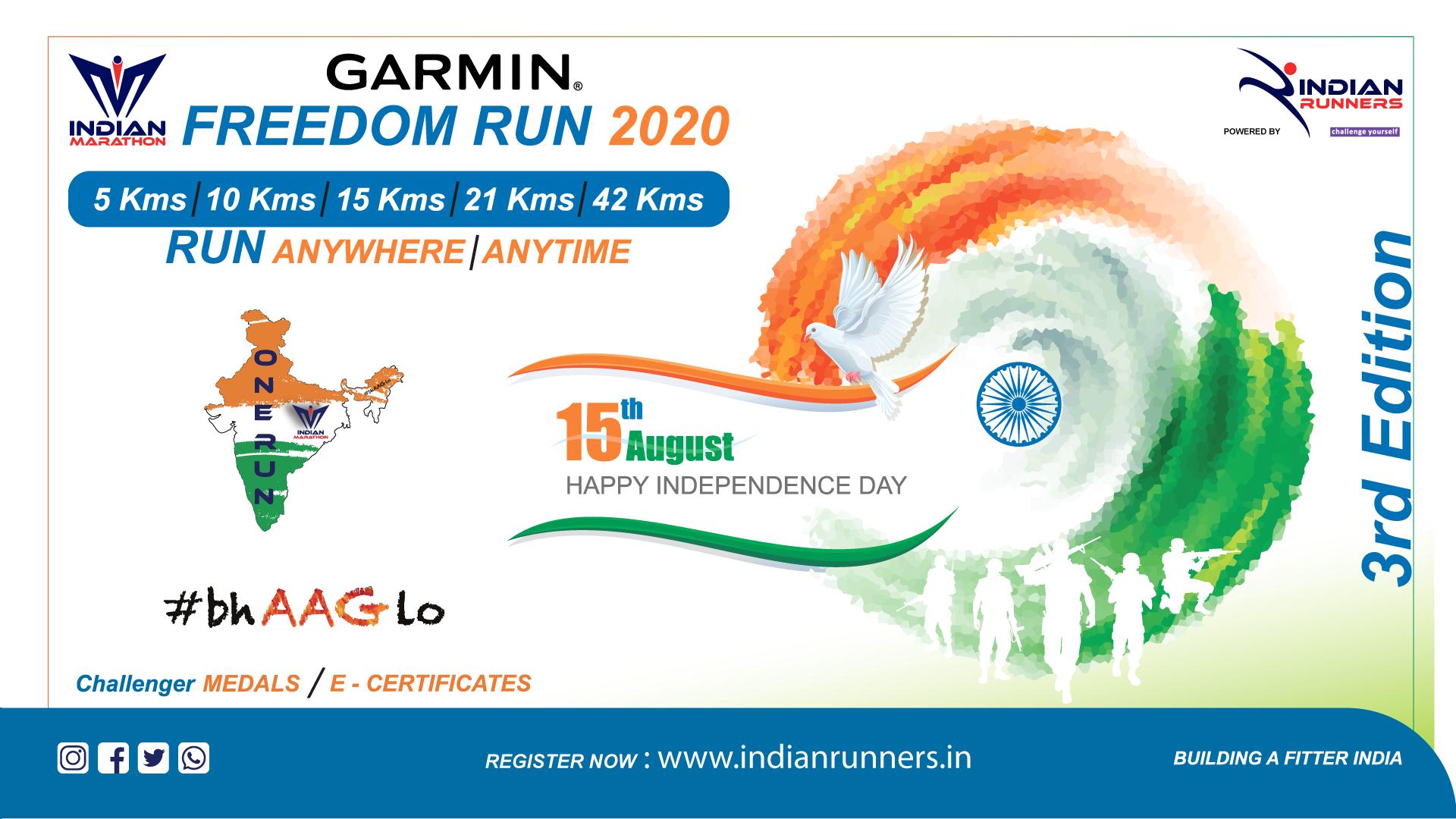 Garmin Freedom Run image