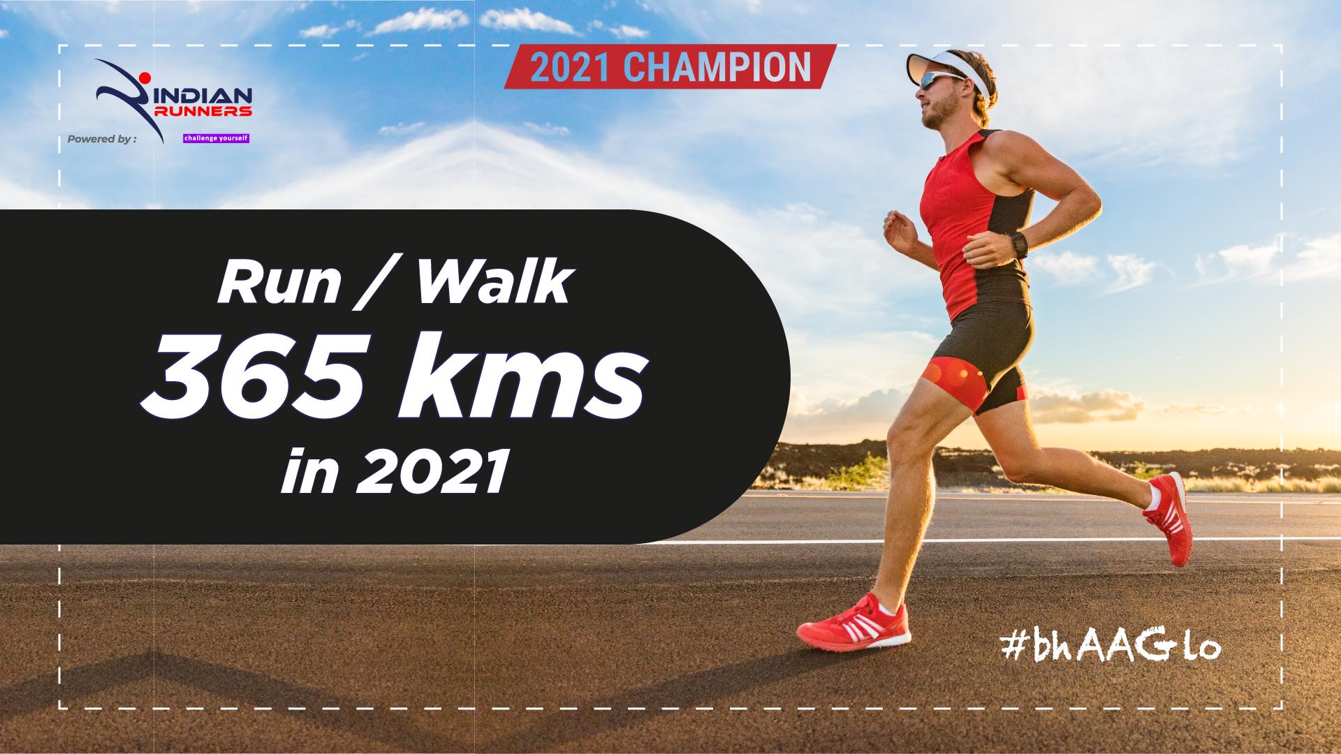 Run 365 Kms in 2021 image