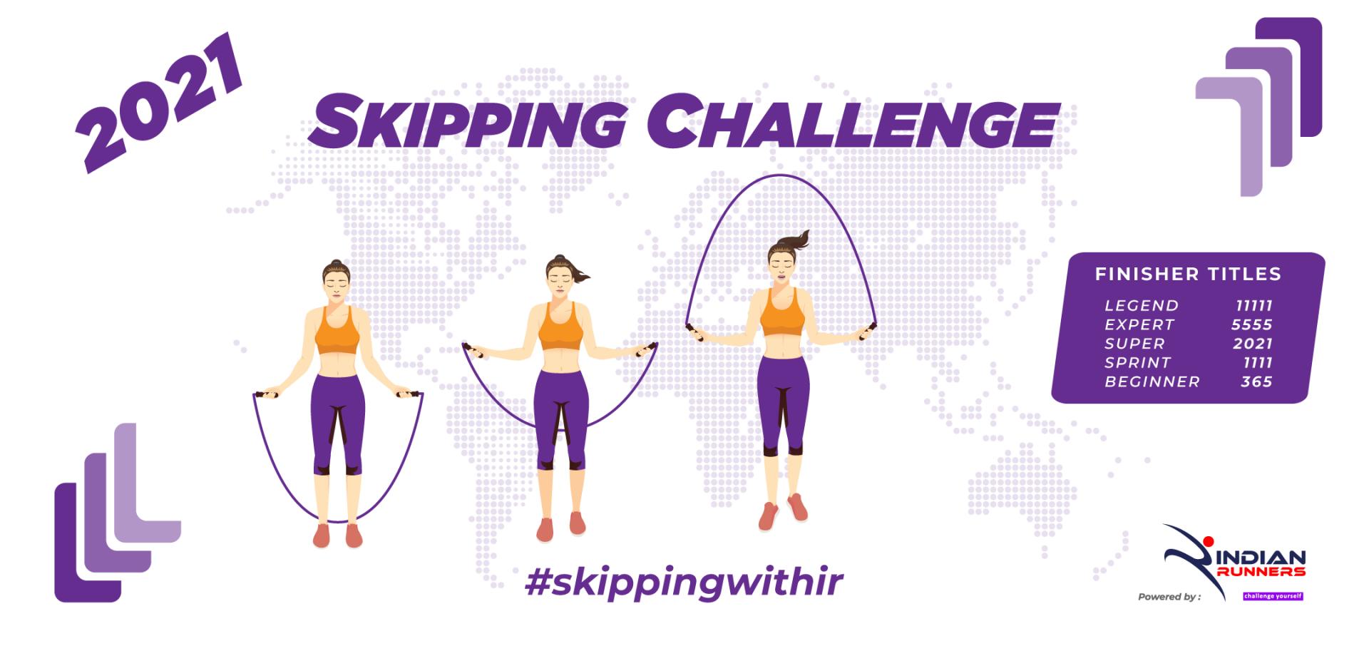 Skipping Challenge 2021 image