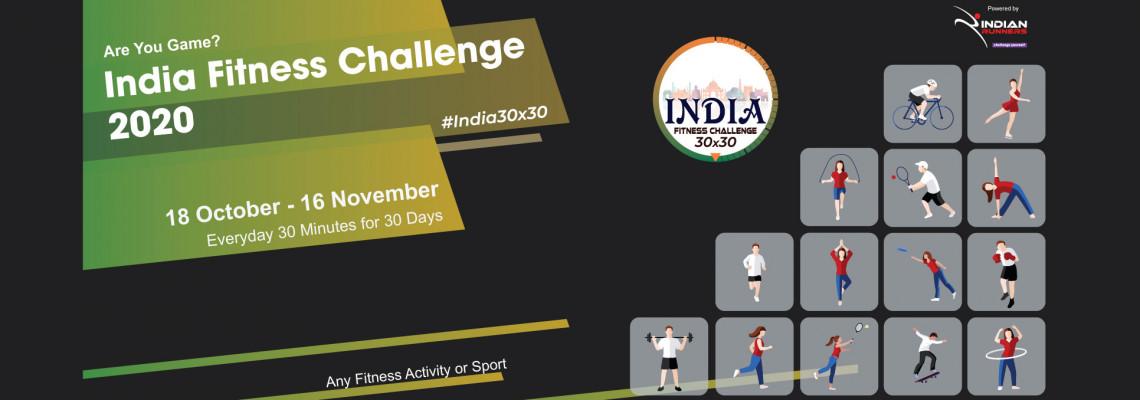 India Fitness Challenge image