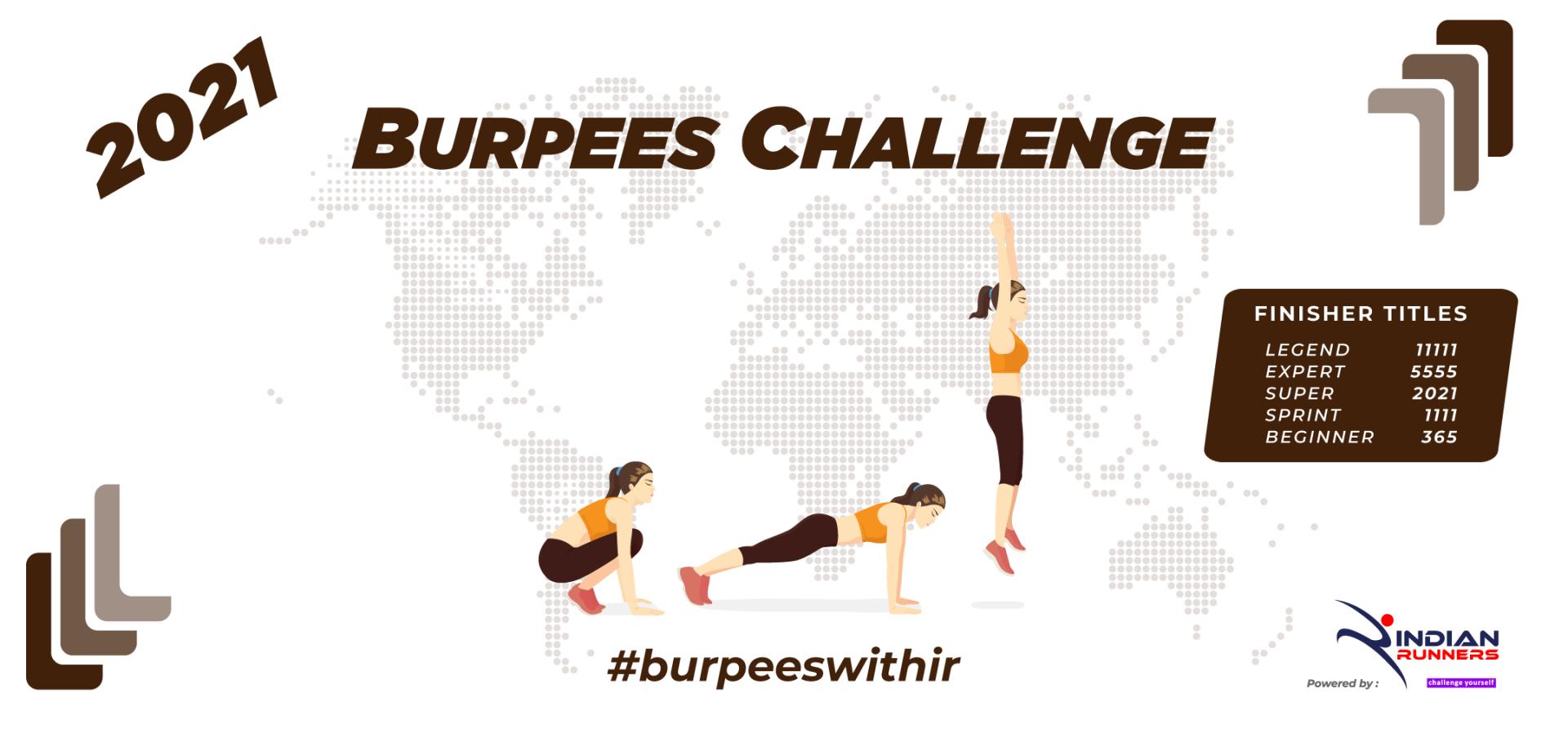 Burpees Challenge 2021 image