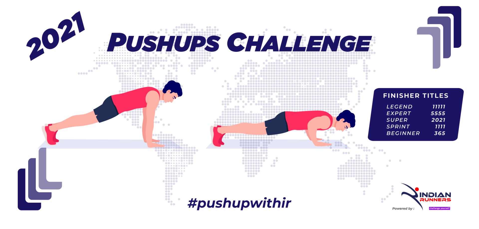 Pushups Challenge 2021 image
