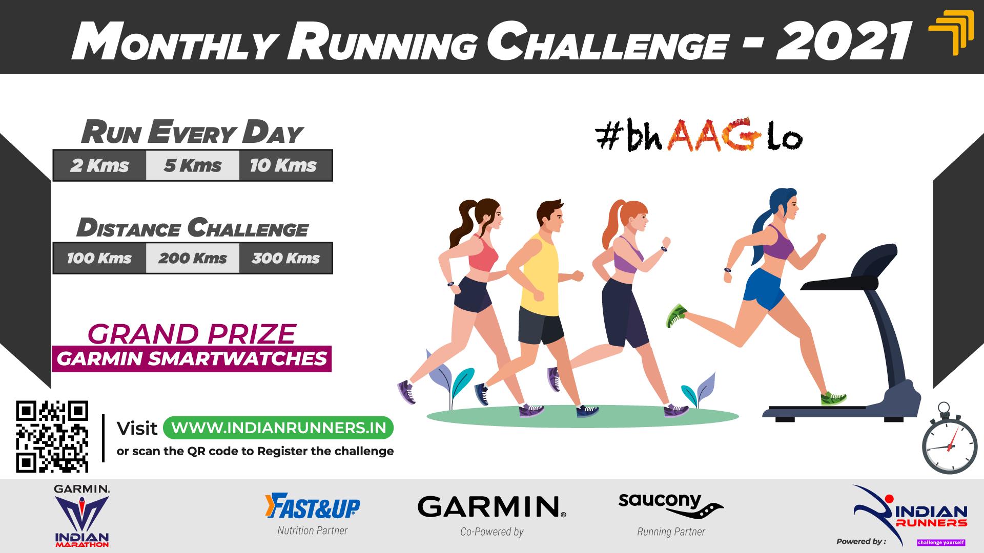 Monthly Running Challenge image